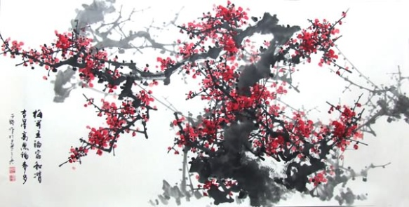 plum-blossom-chinese-painting