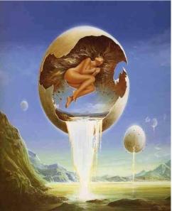donna uovo