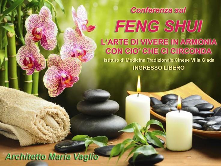 Maria Vaglio CONFERENZA FENG SHUI