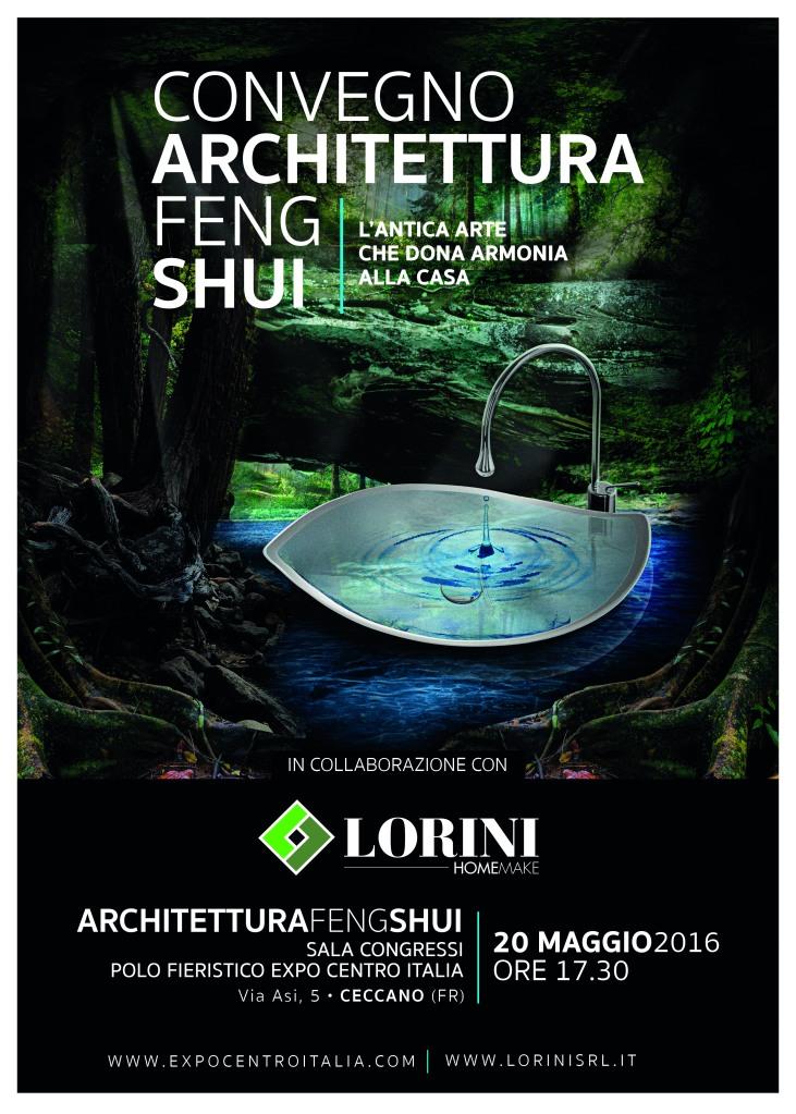 Lorini - armonie manifesto 50x70 - architettura feng shui